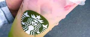 Here's How to Order Starbucks' New Colorful Ombré Drink From the Secret Menu