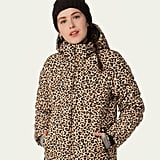 Protest Revet Leopard Print Winter Jacket