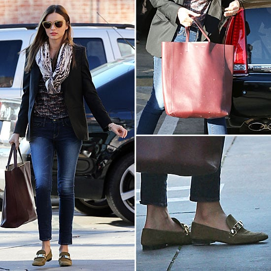 Miranda Kerr Street Style   Jan. 7, 2013