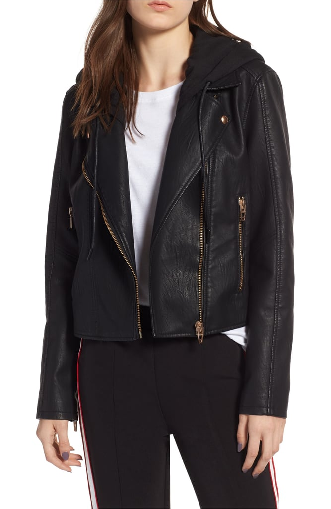 BLANKNYC Meant to Be Moto Jacket