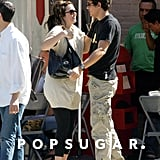 Mandy Moore met up with John Mayer for a NYC lunch date in August 2007.