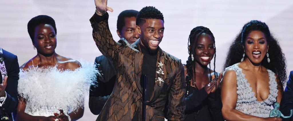 Black Panther Cast Acceptance Speech 2019 SAG Awards Video