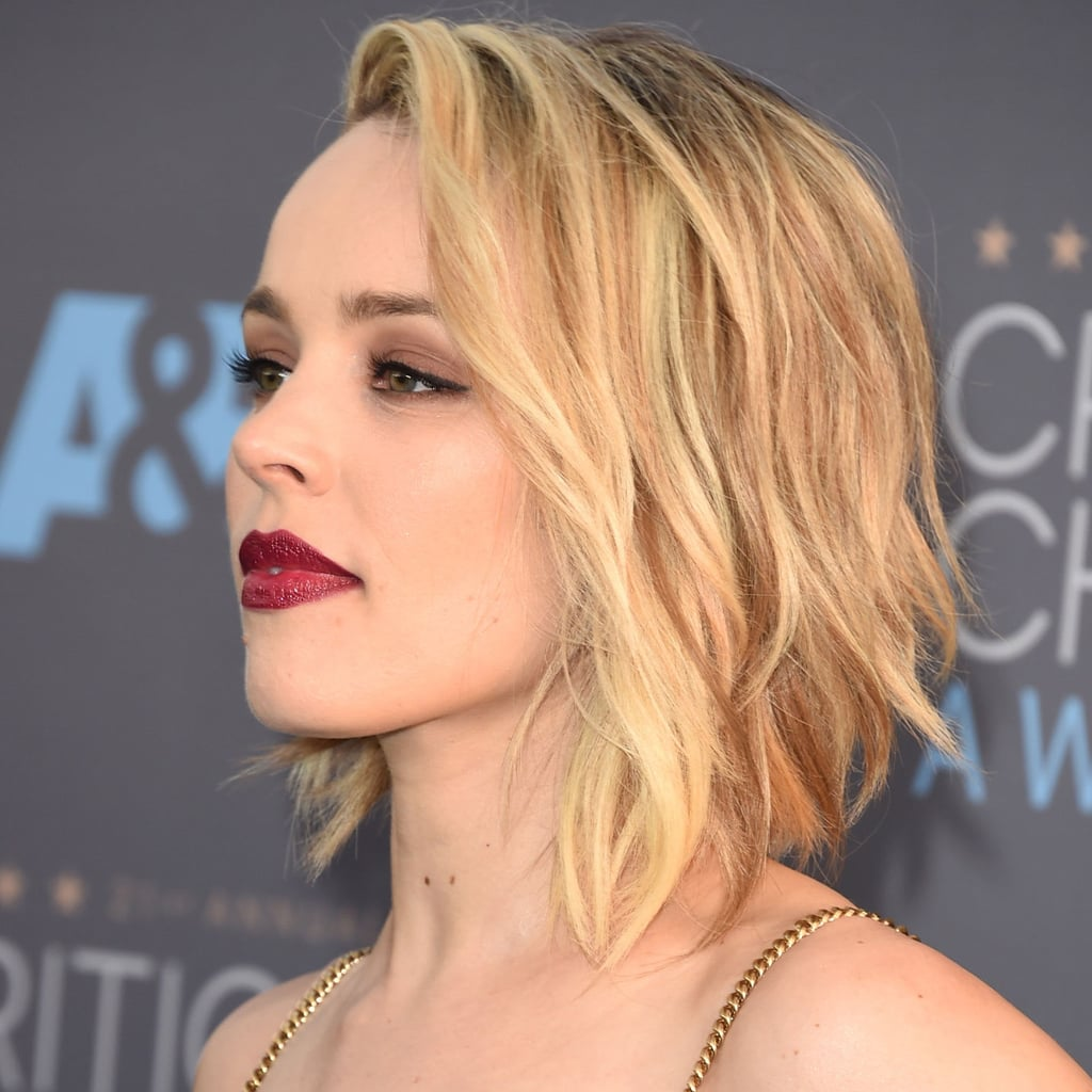 Rachel Mcadams Wavy Bob At The Critics Choice Awards