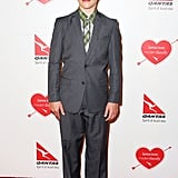 Nolan Gould suited up for the party.