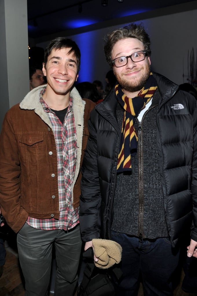 Justin Long and Seth Rogen