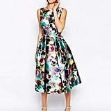 Chi Chi London floral full prom skater dress (£58)