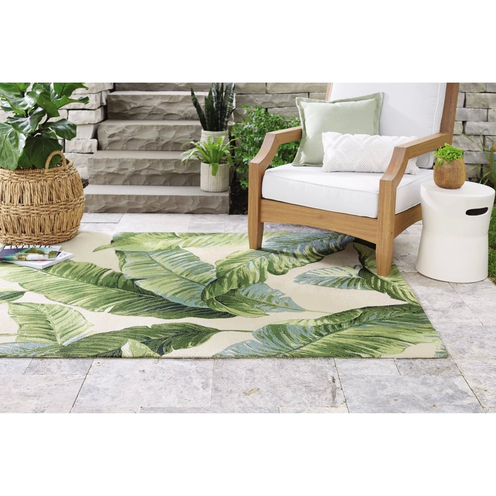 Holiday Tropical Outdoor Rug Outdoor Rugs From Target