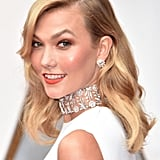 When Karlie Kloss Wore the Coolest Choker on the Red Carpet