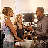 Jay Manuel shared advice with Lisa and Shannon before the photo shoot.  Photo courtesy of CW