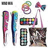 Madmia Showbag ($20) Includes:  Unicorn socks  Unicorn head bow  Body/face paint and glitter set