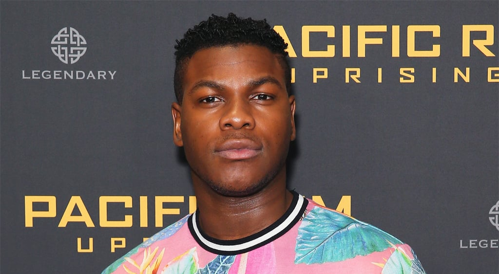 SYDNEY, AUSTRALIA - FEBRUARY 28:  John Boyega attends the Pacific Rim Uprising fan event at Event Cinemas George Street on February 28, 2018 in Sydney, Australia.  (Photo by Don Arnold/WireImage)
