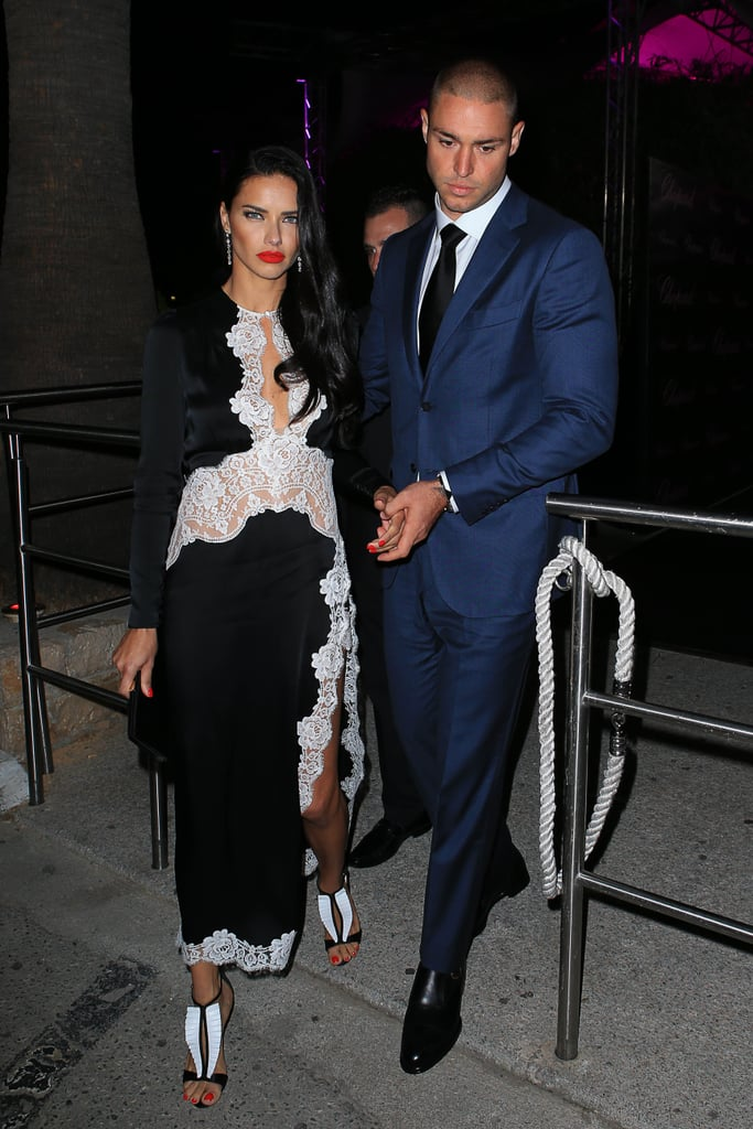 Adriana Lima And Her Boyfriend At Cannes Film Festival