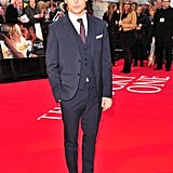 Zac Efron was in London for the European premiere of The Lucky One.