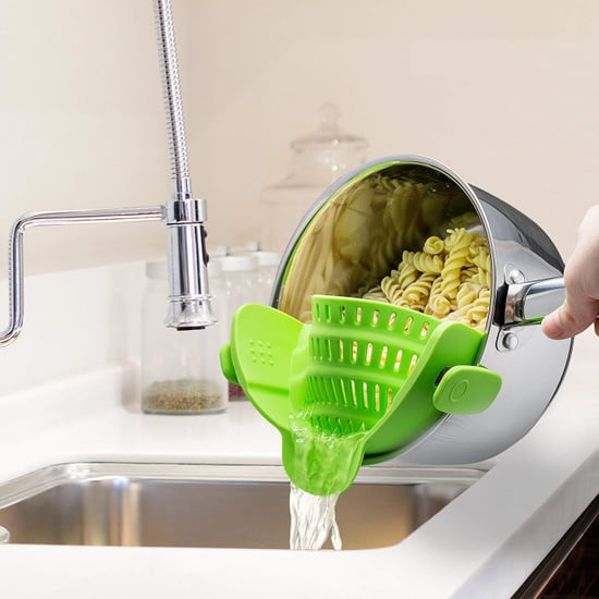 Clip-On Silicone Colander