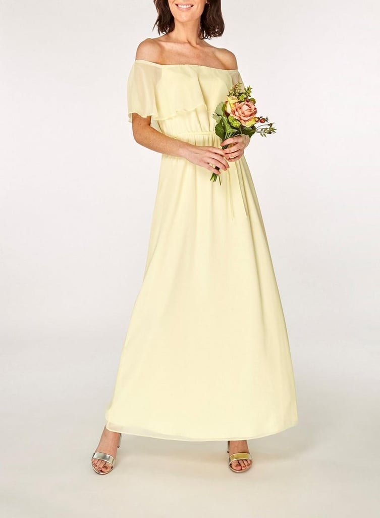 043e2fa1afe0fd Dorothy Perkins Lemon Siena Maxi Dress