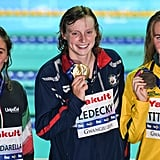 Katie Ledecky Takes Gold in the 800m Free