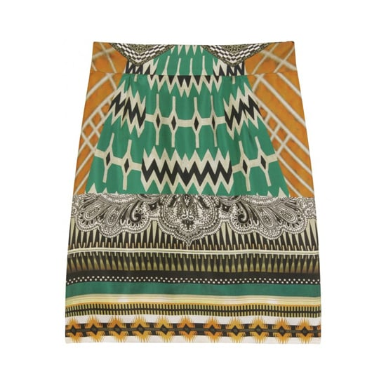 Etro Printed Silk Mini, $535