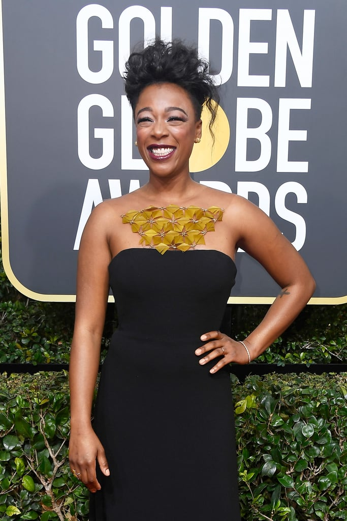 Samira Wiley at the 2018 Golden Globes
