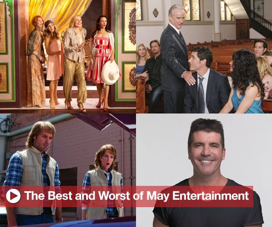 Best and Worst of Movies, TV, and Music in May
