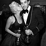 Pictured: Lady Gaga and Mark Ronson