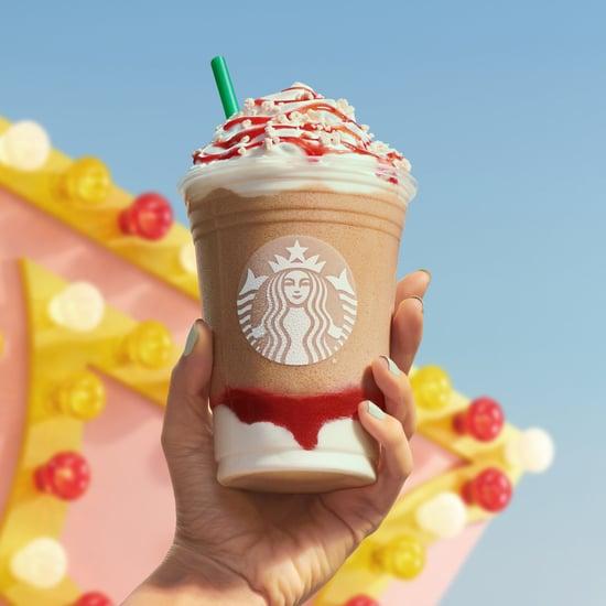 Starbucks Releases New Strawberry Funnel Cake Frappuccino
