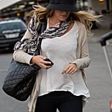 Blake Lively wore a hat in LA.