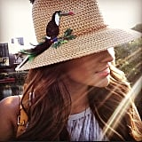 We love this quirky little hat!