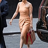 Jennifer Lopez in the C/MEO Collective Stand Still Dress