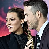 Blake Lively and Ryan Reynolds at A Simple Favor Premiere