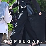 Mary-Kate Olsen Wearing The Row Sandals