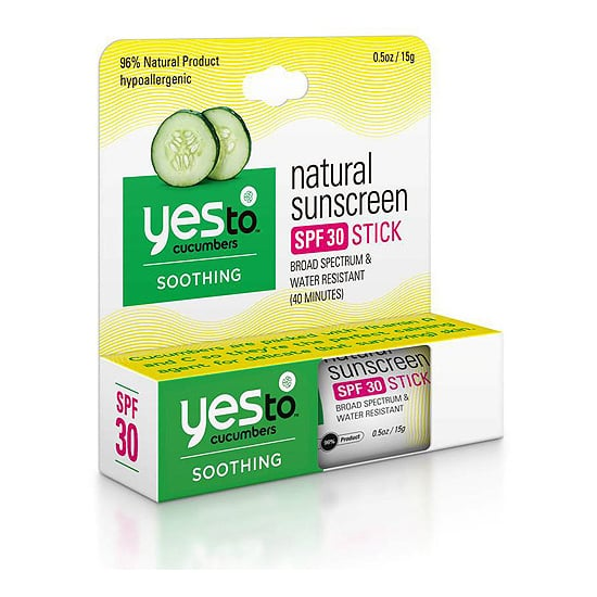 Even though you should be using SPF year-round, Summer is the time of year when you've got to pull out all the stops. That's why I'll be keeping Yes To Cucumbers Sunscreen Stick SPF 30 ($9) in my purse starting now. Its glide-on application makes it ideal for touch-ups, so you can keep yourself from going pink this Summer. — MD