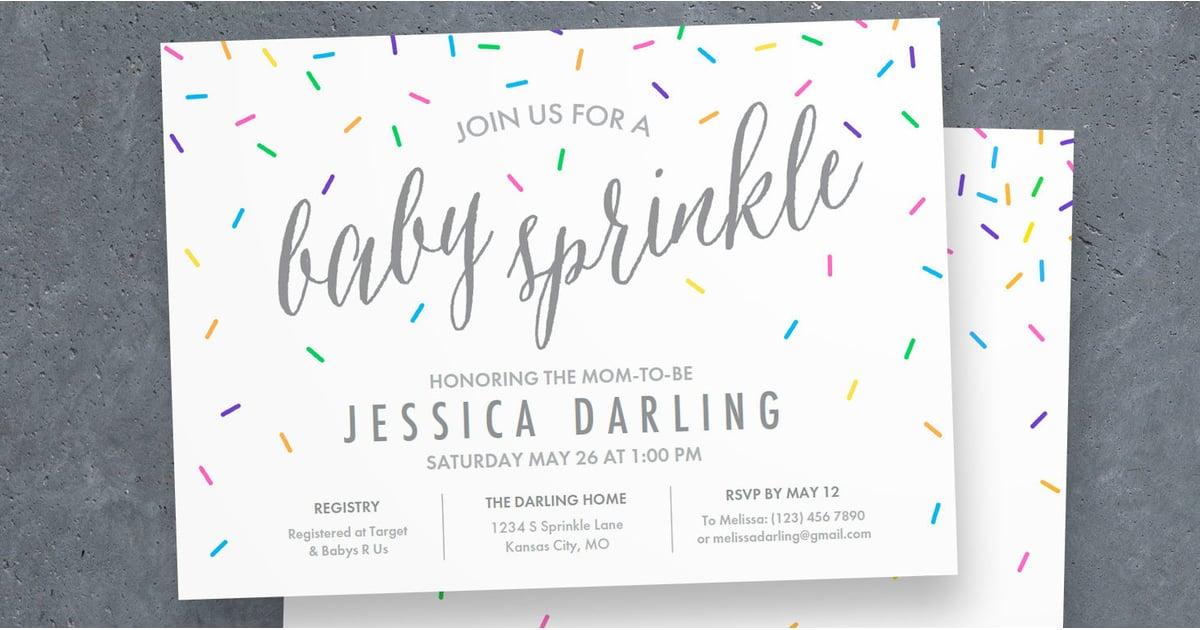Baby sprinkle tips popsugar moms for Baby shower etiquette for mom to be