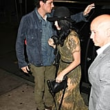 Katy Perry and John Mayer went out to dinner together in NYC.