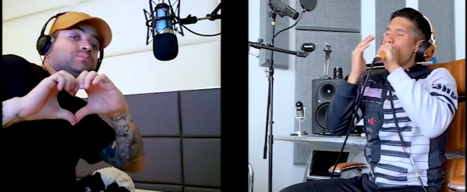 "Chino & Nacho Release ""Raro (Live at Home)"""