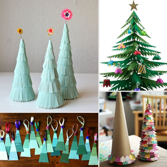 5 Paper Christmas Tree Craft Projects For Kids