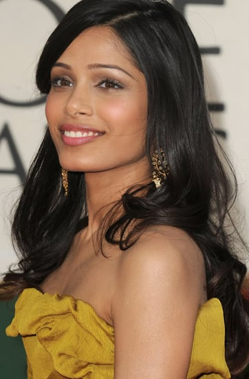 Frieda Pinto at the Golden Globes