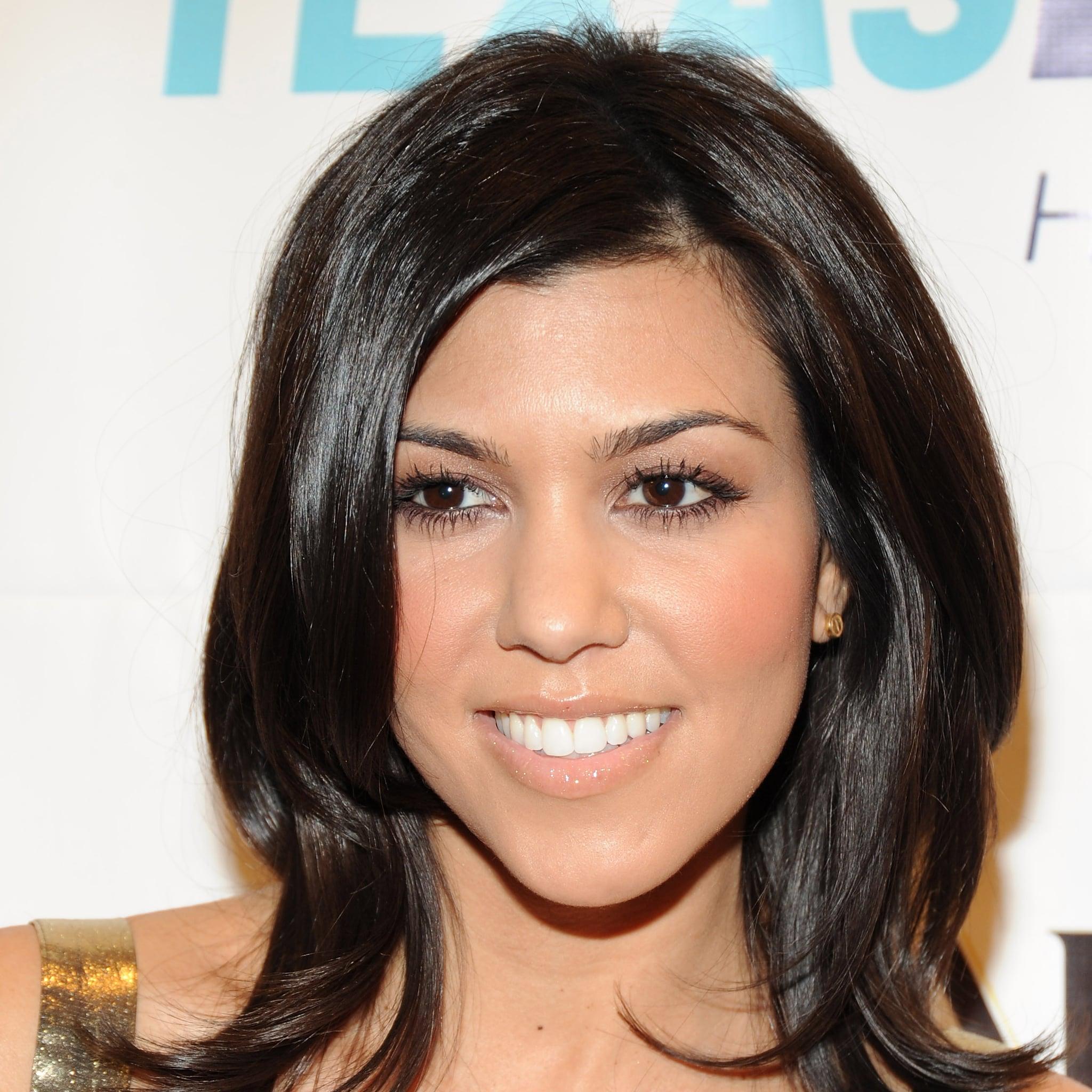 Kourtney Kardashian Best Hairstyles Popsugar Beauty