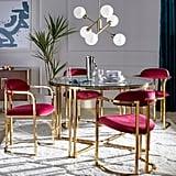 Retro Glam Dining Room