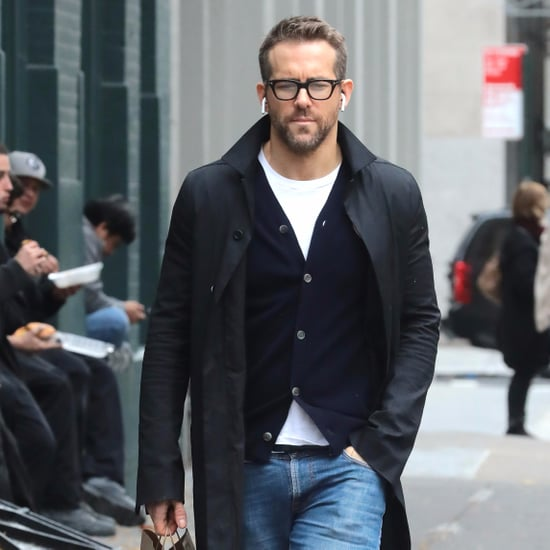 Ryan Reynolds Out in NYC Pictures November 2017