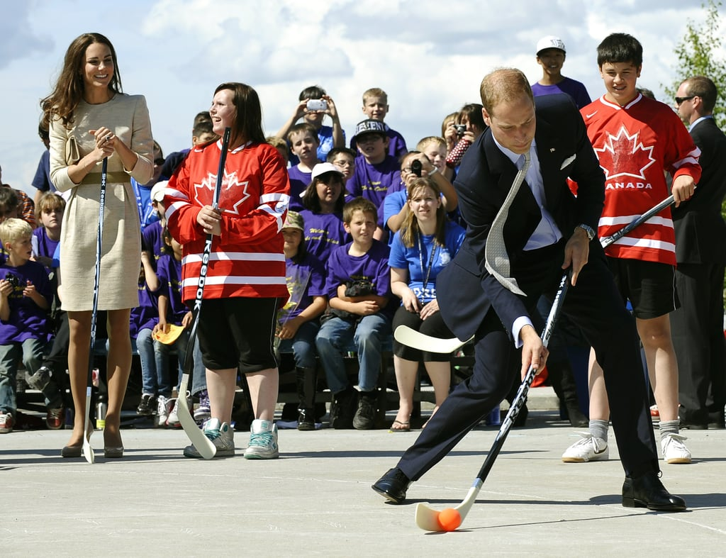 On July 5, Prince William and Kate Middleton visited Yellowknife, Northern Territories.