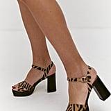 Musier Paris Zebra Sandals