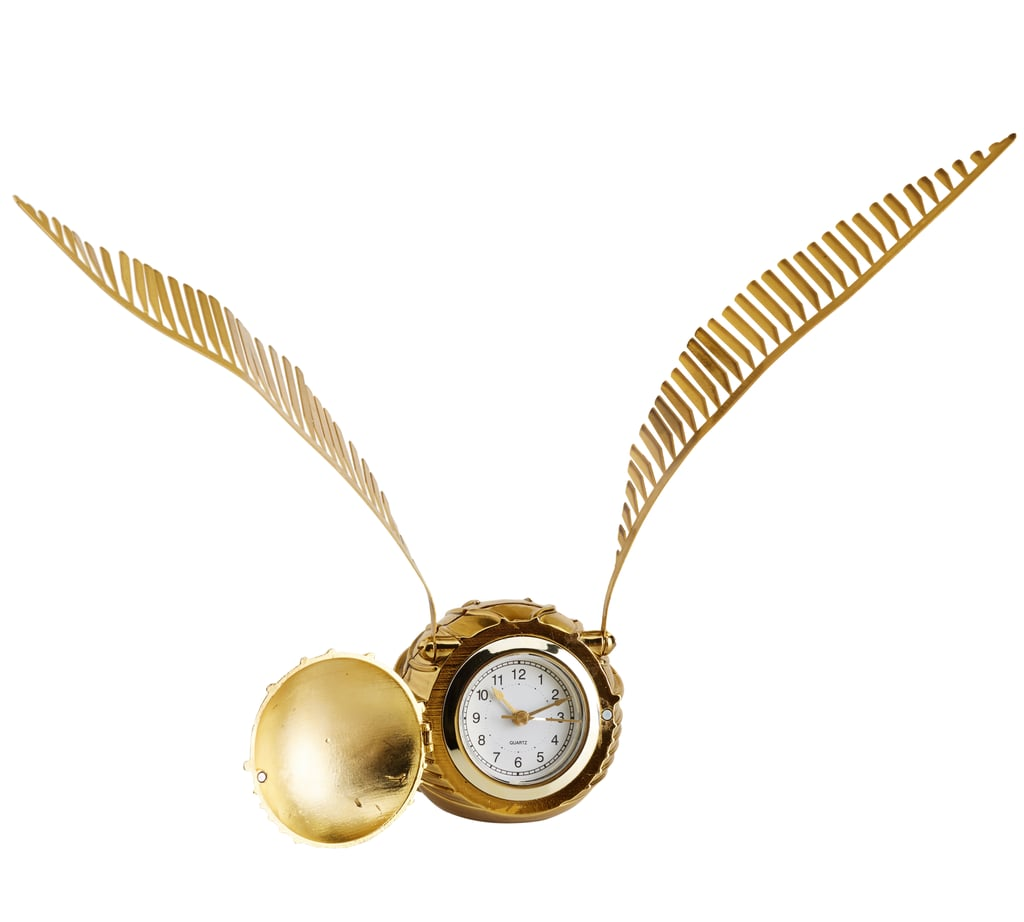 Golden Snitch Alarm Clock ($49)