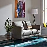 Rivet Revolve Mid-Century Modern Loveseat Sofa Couch