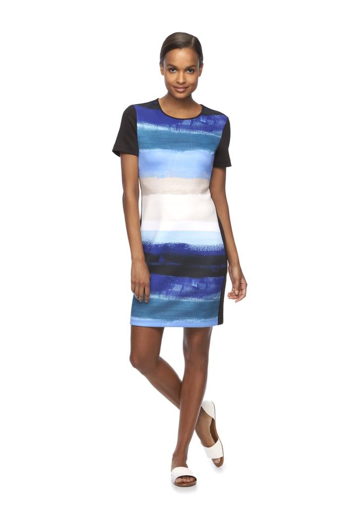 Print Scuba Sheath Dress ($68)