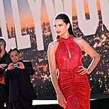 Adriana Lima at the Once Upon a Time in Hollywood LA premiere.