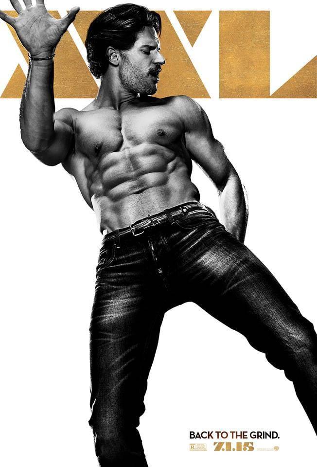 Joe Manganiello As Big Dick Richie  Magic Mike Xxl Character Posters  Popsugar -8160