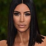Kim Kardashian at the 2017 Met Gala