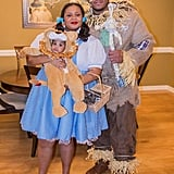 Dorothy, Scarecrow, and The Cowardly Lion