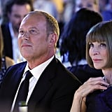 Michael Kors and Anna Wintour attended the Michael Kors Golden Heart Gala in NYC.