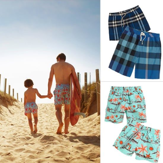 Just the Two of Us: 6 Adorable Father-Son Swimsuit Combos